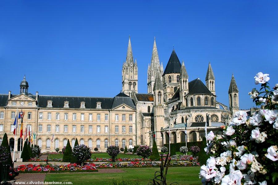 Men's abbey in Caen housing William the Conqueror's grave