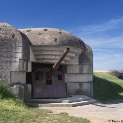 Observation bunker similar to Longues gun battery