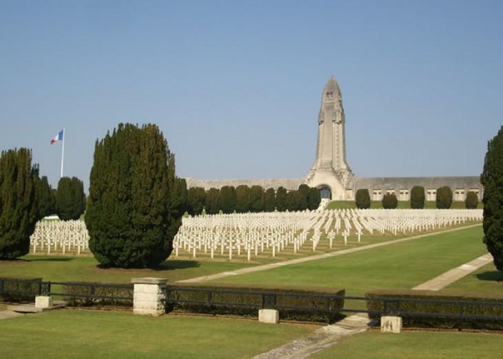 Les champs de bataille de la première guerre mondiale