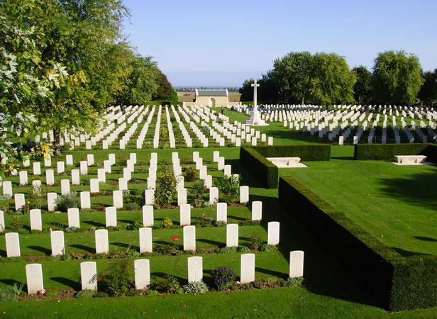 Canadian cemetery at Reviers