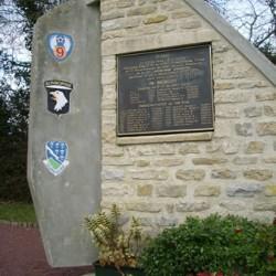 Meehan's C-47 crash monument at Beuzeville au Plain